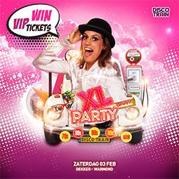 VIP Win actie voor de XL Party